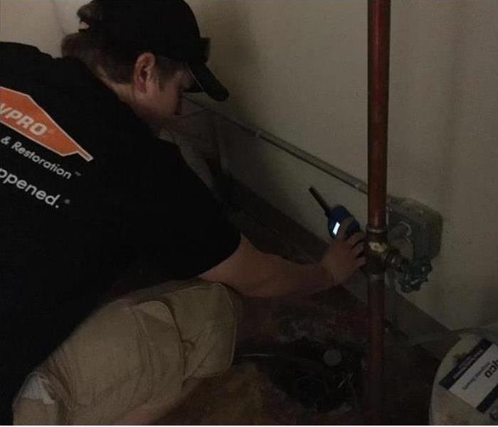 Monitoring after a Water Damage in Altoona