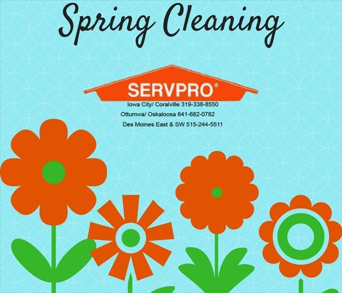 Cleaning Spring Cleaning will be a breeze when you contact SERVPRO of Des Moines East